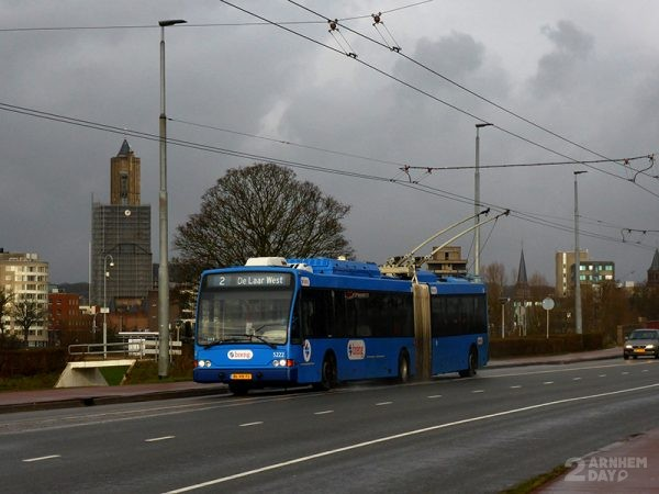 Trolleybus John Frostbrug - Job Richter